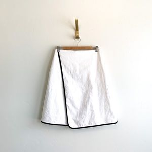 Kate Spade Saturday White Midi Wrap Skirt